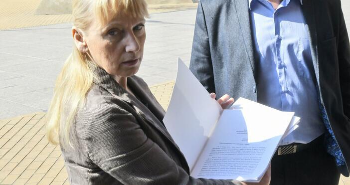 Снимка: Булфото, архивЕвродепутатът Елена Йончева говори пред за това какво
