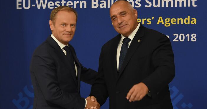 Снимка: БулфотоПредседателят на Европейската народна партия Доналд Туск не е