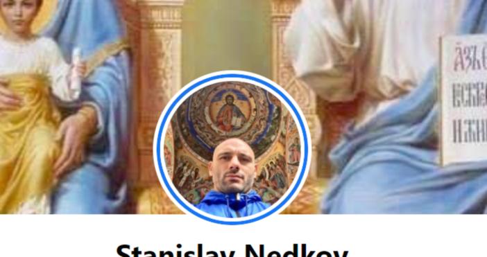 Кадър ФБ Станислав Недков СтъкиММА боецът и лидер на контрапротеста