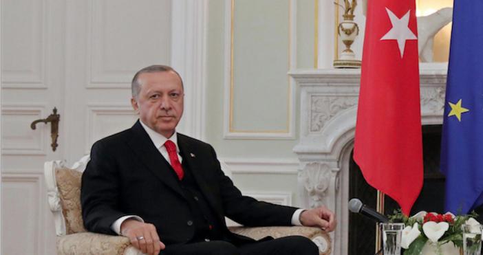Снимка Булфото, архивТурският президент Реджеп Тайип Ердоган внесе жалба против
