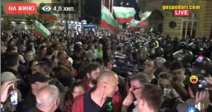 кадър и видео: Иво Божков, фейсбукАрман Бабикян току що на