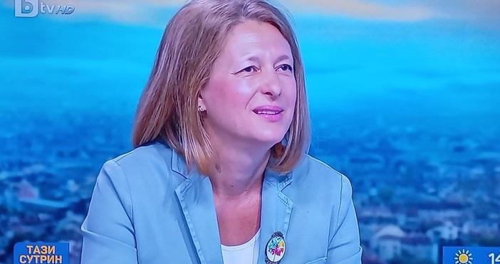 Редактор:e-mail:Кадър: БТВБившият депутат от ГЕРБ Джема Грозданова вече е част
