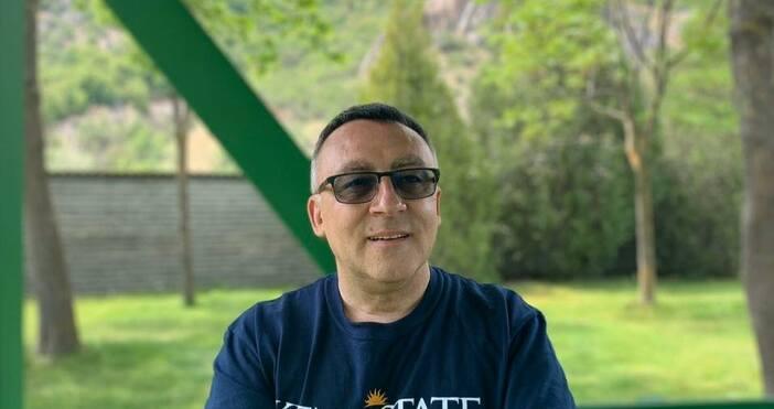 Снимка: Диян Стаматов, фейсбукДиректорът на Столичното 119 СОУ Диян Стаматов