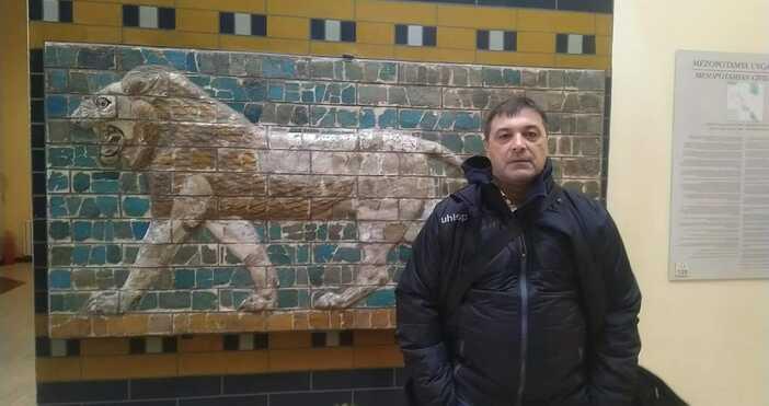 Снимка: Георги Иванов, фейсбукВарненският специалист Георги Иванов-Геша е новият старши