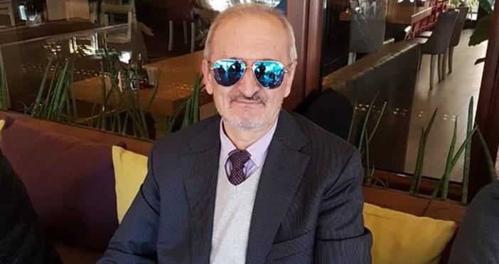 Снимка: Атанас Атанасов, фейсбукПървият футболен президент в България след падането