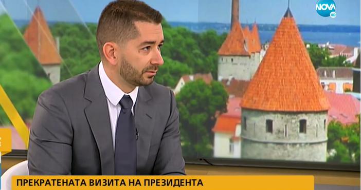 Кадър: Нова Тв, видео: Нова Тв, Vbox7.comПолитологът Слави Василев даде