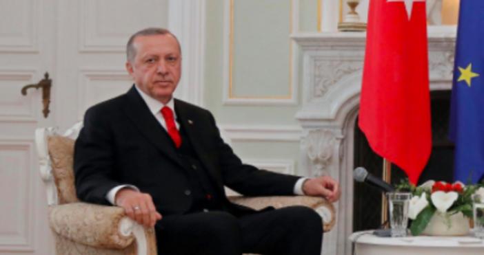 Снимка: БулфотоПрезидентът на Турция Реджеп Тайип Ердоган атакува остро за