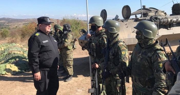 снимки: пресцентър на МОБългарската армия е готова да разгърне полеви