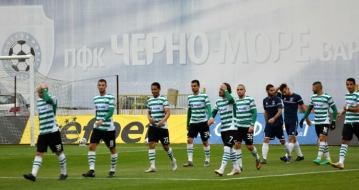 Снимка: ПФК Черно мореЧерно море и Созопол завършиха 1:1 в