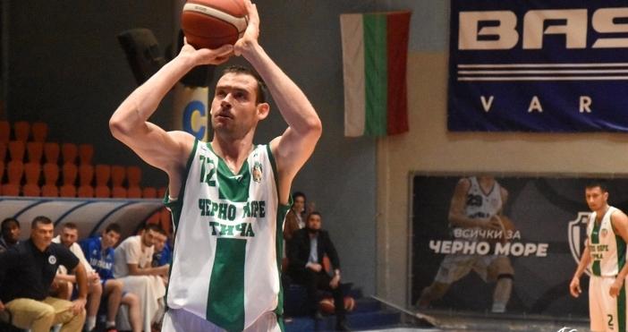 Снимка: НБЛАлександър Янев вече не е играч на Черно море