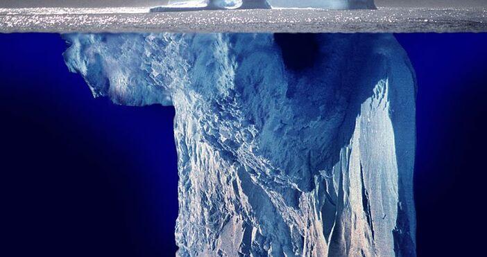 фото, архив:(iceberg) and(sky)., УикипедияГолямо откритие. Видя се от самолет.Самолет на