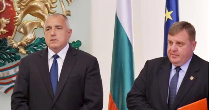 Снимка: БулфотоМинистър-председателят и министърът на отбраната на България бяха поздравени