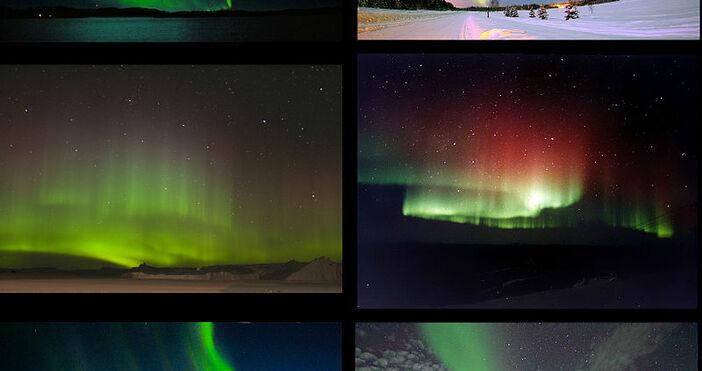 снимка:14jbella, УикипедияСеверното сияниее оптично явление, наблюдавано в небето над полярните