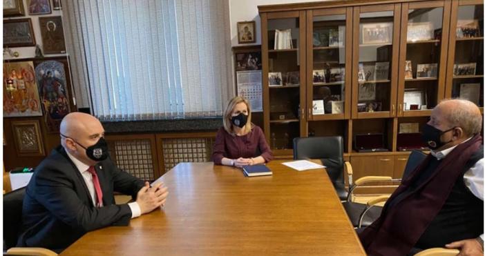 Снимка Прокуратура на Република БългарияГлавният прокурор на Република България имаше