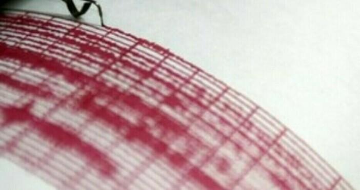 снимка: БулфотоТрусът е станал на около 4 километра дълбочина, в