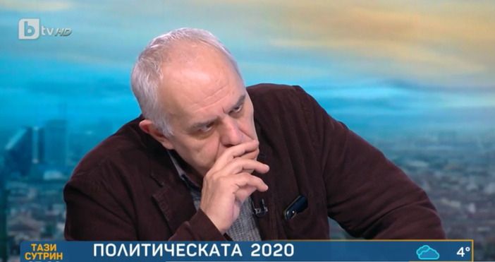 Кадър: БТВСоциологът Андрей Райчев направи коментар по актуалните политически събития