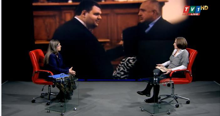 Редактор:e-mail:Кадър TV 1, Фейсбук/ Миролюба БенатоваГ-н Борисов ми даде интервю,