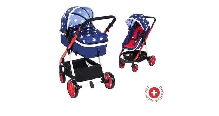 Детската количка е първото возило, в което бебетата се разхождат