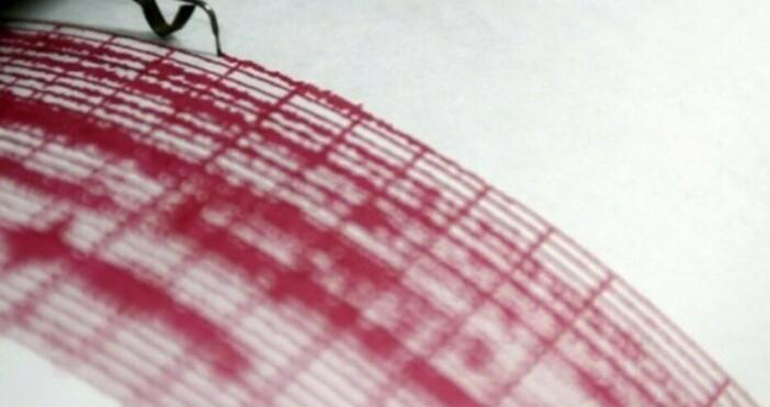 снимка БулфотоЧасове по-рано земетресение с магнитуд 5,1 по скалата на
