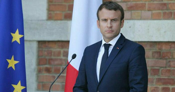 Снимка Булфото, архивФренският президент отправи ясно послание към Великобритания.Еманюел Макрон