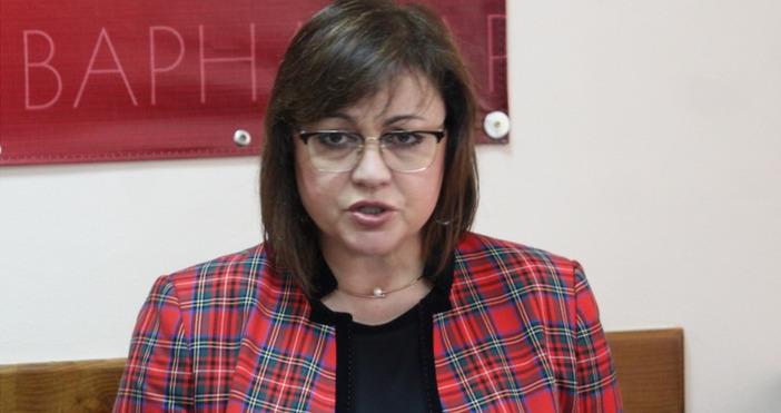 Снимка: Петел, архивЛидерът на БСП Корнелия Нинова обяви, че партията