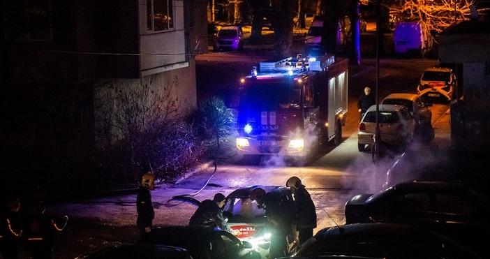 Снимки БулфотоГолям пожар е стреснал варненци тази нощ в квартал