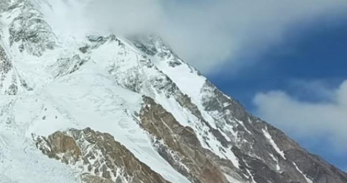 Кадър Атанас Скатов, ФБ Публикуваха последната снимка на българския Алпинист