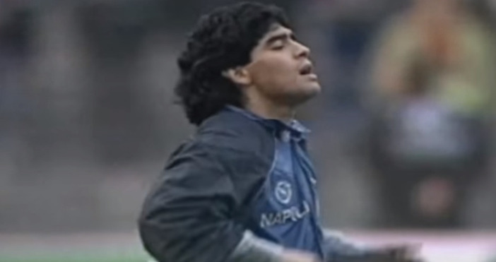 Кадър Maradona inedito - Canal 2.0, You tube, видео El Chiringuito