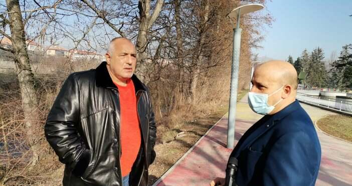 Снимка Фейсбук, Бойко БорисовБойко Борисов заявипо време на инспекция на