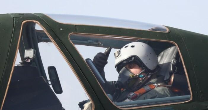 Снимка: МО, архив Атрактивен полет с обновена техника се състоя