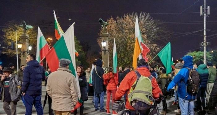 Снимка Булфото, архивИ тази вечер протест срещу управлението.Демонстрантите обещаха да