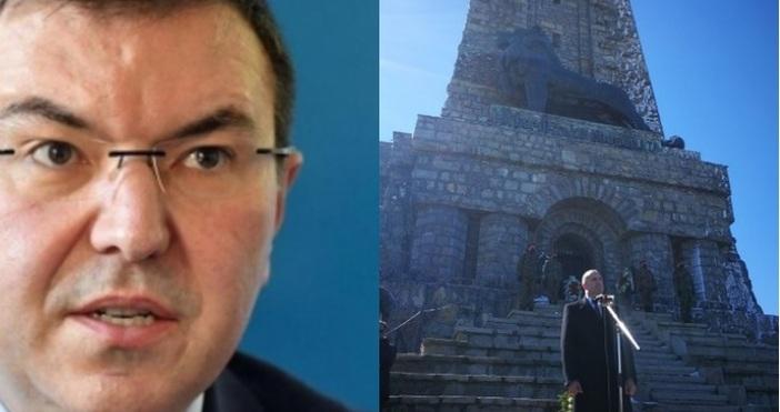 Кадър БТВЗдравният министър проф. Костадин Ангелов отговори на държавния глава