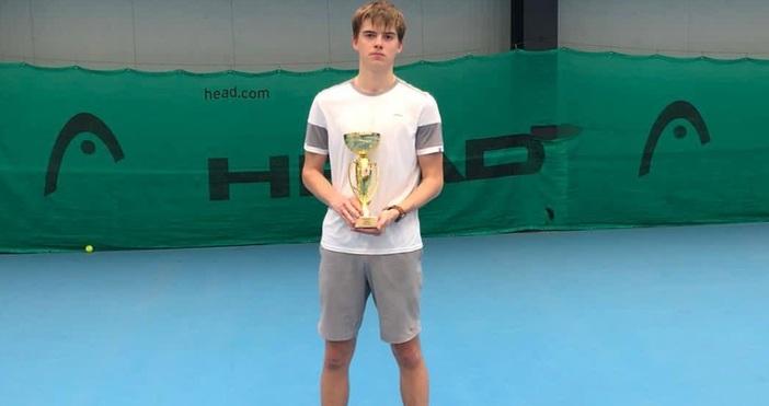Снимка: ТК Черно море ЕлитПоредна шампионска титла за тенисиста Пьотр