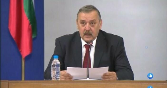 Кадър: БНТПредставителят на Националния оперативен щаб за борба с коронавируса