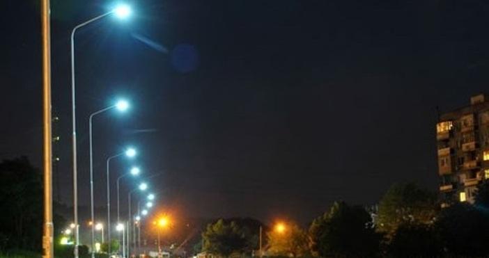 снимка: Live.Varna.bgПроект за ново улично осветление в район