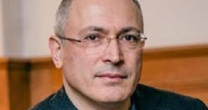 Снимка: Михаил Ходорковски, ФБЗападът не води никаква битка с едноличната