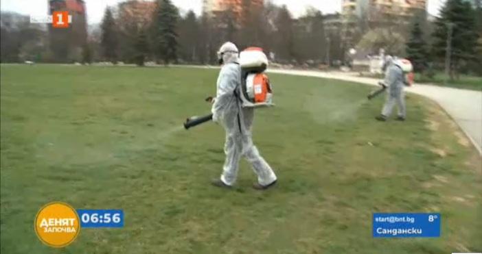 Кадър: БНТВ София започва пръскане срещу кърлежи от днес. То