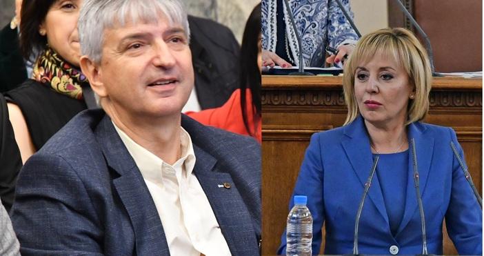 Колаж: БулфотоМая Манолова внесе предложение премиерът Бойко Борисов да бъде