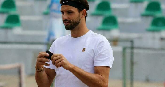 Снимка: Булфото, архивБългарският тенисист Григор Димитров няма да участва на