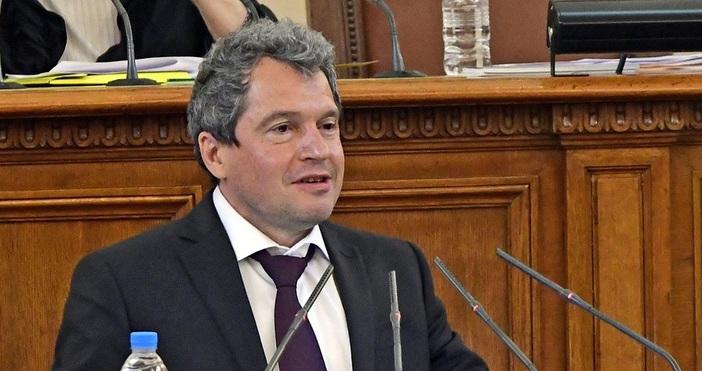 Кадър тв 7/8Лидерът на ИТН в парламента Тошко Йорданов бе