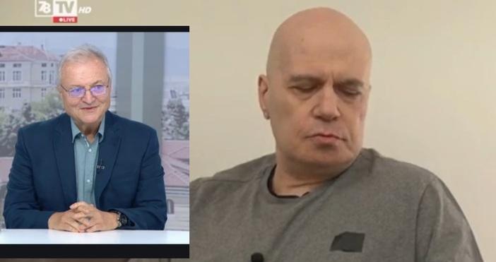Кадър: 7/8 ТВ и БНТЖурналистът Валери Найденов изрази съмнения дали