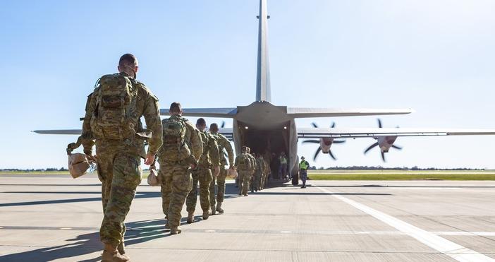 Кадър: Australian ArmyРасте напрежението с Китай заради опасността от инвазия