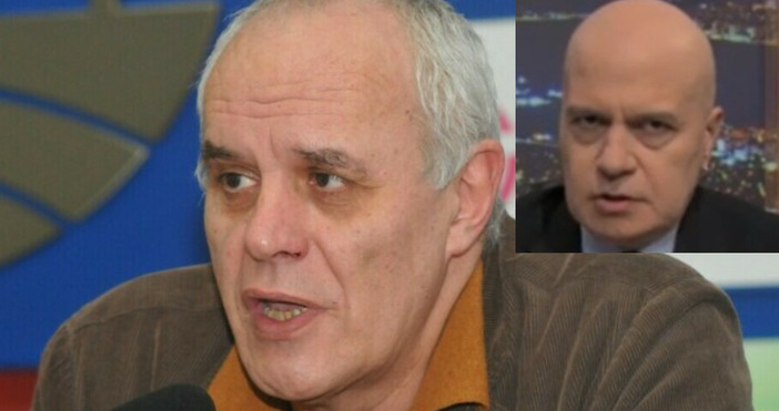 Колаж Булфото, Телевизия 7/8Социологът Андрей Райчев и политологът проф. Румяна