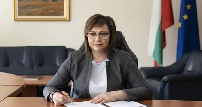 Кадър Корнелия Нинова, БСП