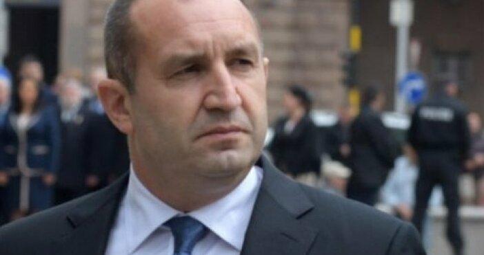 снимка БулфотоПрезидентът Румен Радев се обърна към правителството в оставка