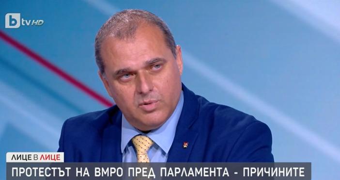 Редактор:e-mail:Кадър бТВИскрен Веселинов от ВМРО обясни колко мандата допълнително ще