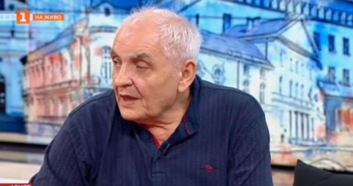 кадър: БНТДимитров призова националния омбудсман за намеса.По думите му част