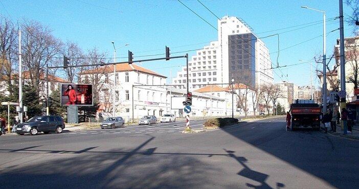Кадър JCD mapВъзлов булевард във Варна ще бъде затворен за