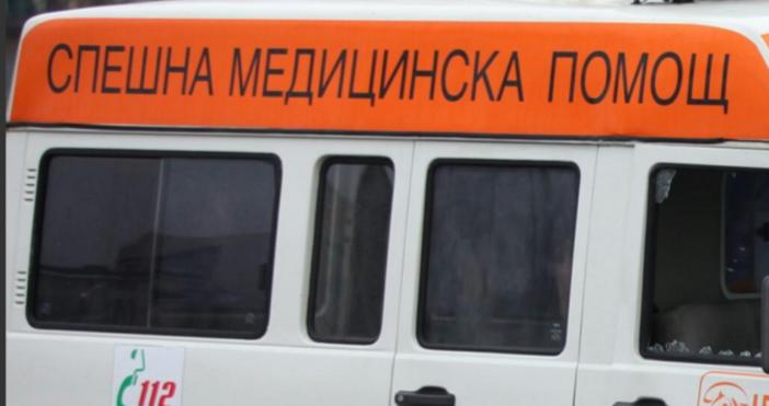 Снимка Булфото Автобус от градския транспорт и две коли са