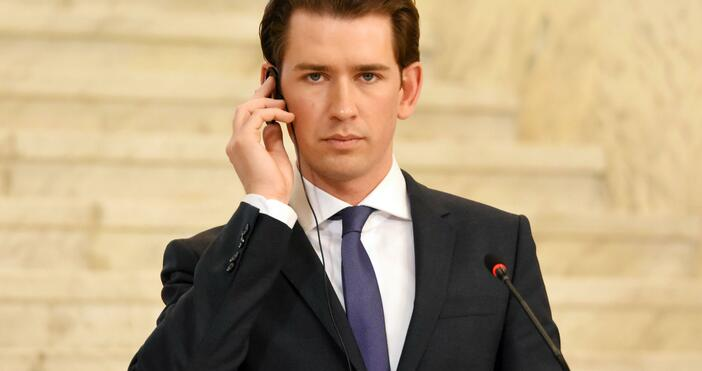 Снимка: БулфотоПрокуратурата в Австрия започна разследване срещу канцлера Себастиан Курц.